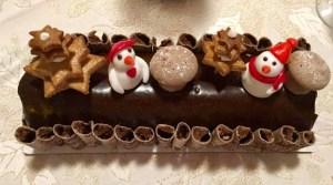 Christmas Yule Log Buche de Noel