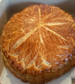 Roscon de Reyes a la francesa