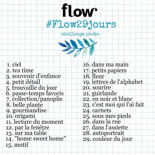 Challenge projet photo Flow