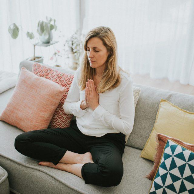 Une séance photo en pleine méditation