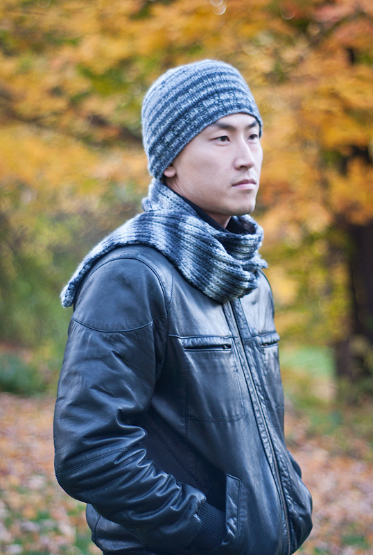 A2013 Men's Woodrow Hat and Scarf Set Inset Image