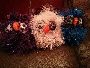Mini Owl Ornaments