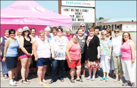 Knit for the cure image 2015
