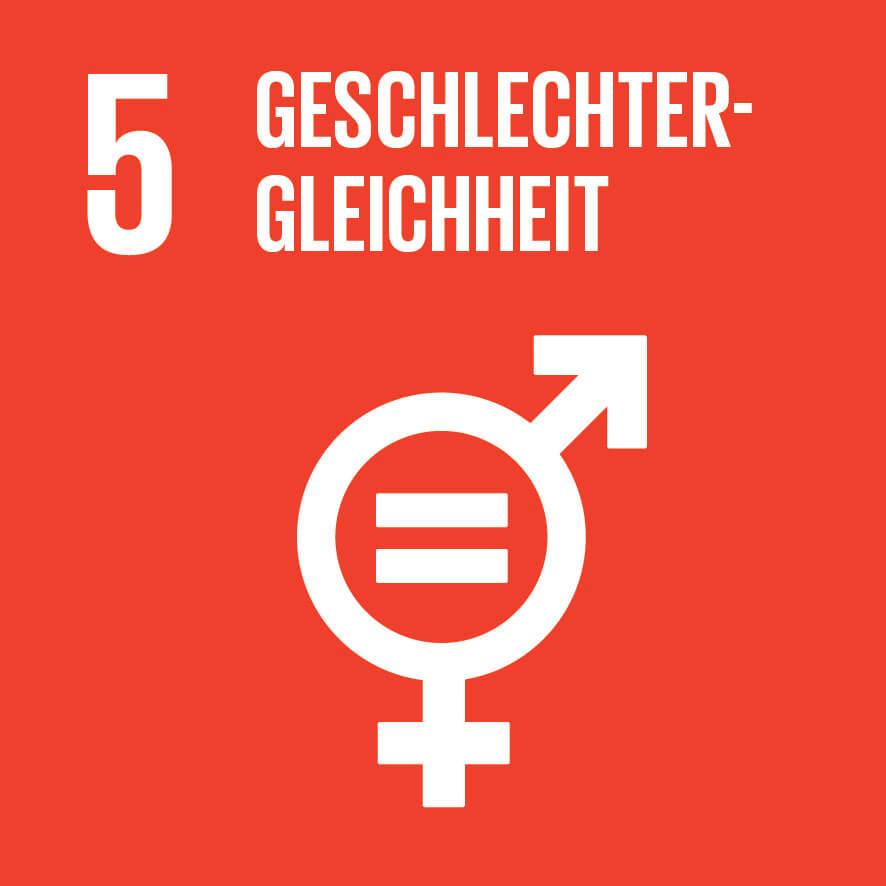 """Das Ziel 5 """"Geschlechtergleichheit"""" ist wichtig für unsere Vision, Mission, Werte und Prinzipien."""