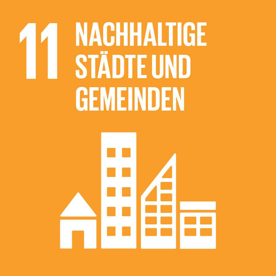 """Das Ziel 11 """"Nachhaltige Städte und Gemeinden"""""""