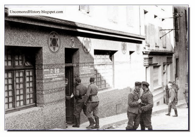 Soldatenbordell - A brothel for German soldiers in a synagogue during the occupation of Brest, France