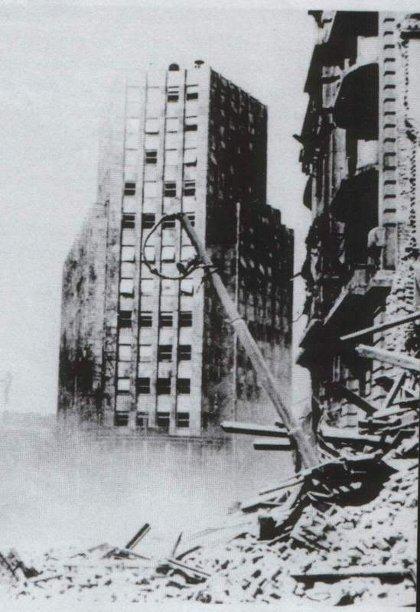 Сусрет са бомбардованим Београдом
