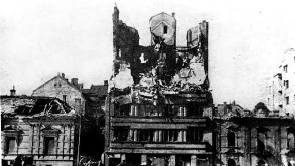 Београд након бомбардовања