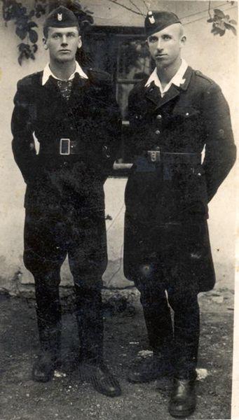 Усташки војници