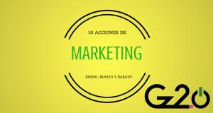 marketing bueno, bonito y barato