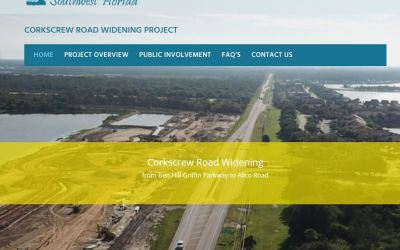 County adds website to track widening of Corkscrew Road