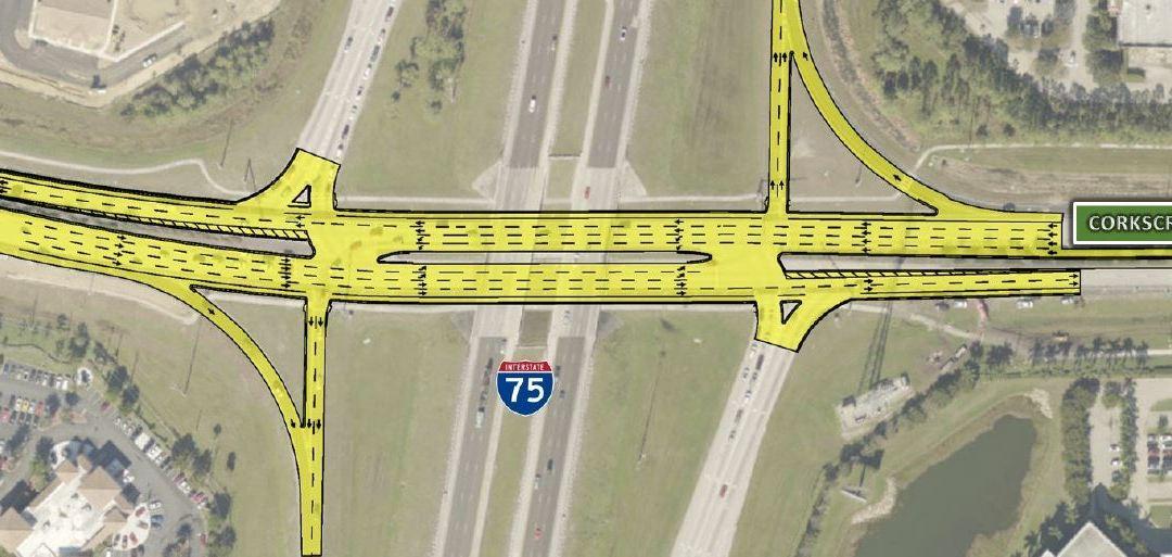 I-75 at Corkscrew Road Interchange Improvements Begin