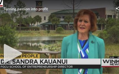 FGCU professor donates salary to help students pursue entrepreneurship