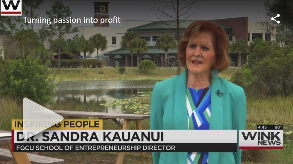 FGCU professor donates salary to help students pursue entrepreneurship