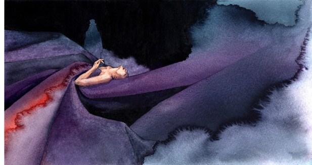 Bram Stokerin dracula-kuvituskuva