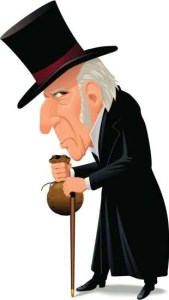 how to handle a scrooge