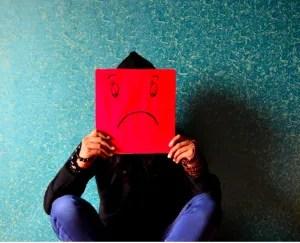 it's okay to feel sad grief of divorce separation break ups