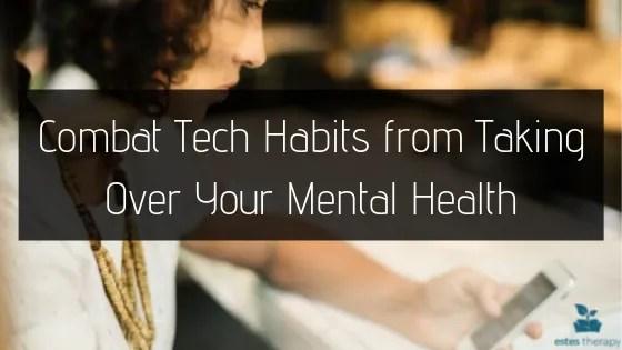 technology boundaries bad habits poor health improve mental health