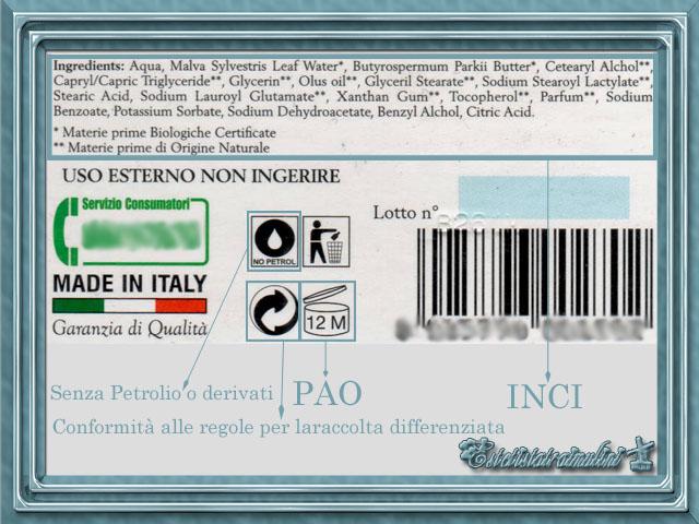 Estremamente Come leggere l'etichetta nei cosmetici? - L'Estetista Expat AS08
