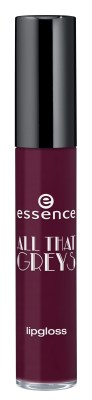 essence all that greys lipgloss 01