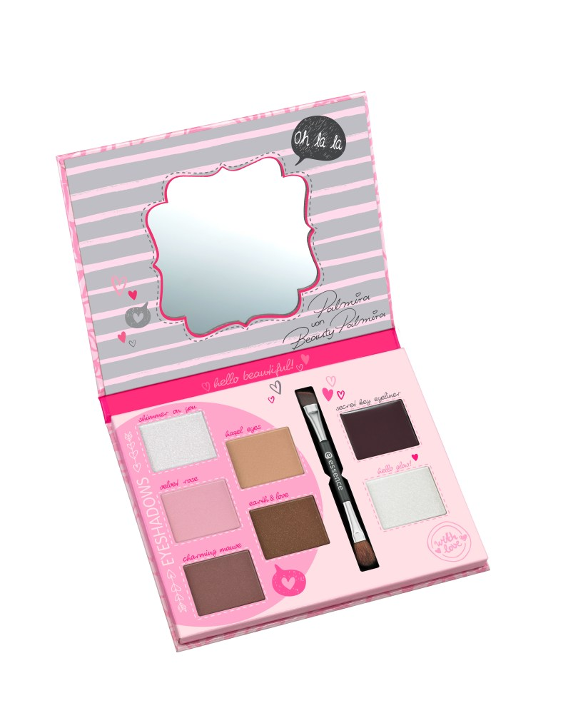 essence bloggers' beauty secrets vintage rose eye palette