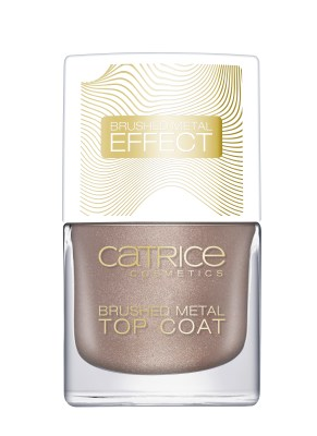 Catrice Pulse Of Purism Brushed Metal Top Coat