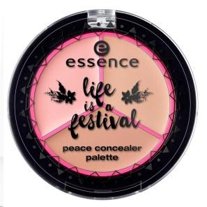 essence life is a festival peace concealer palette 01