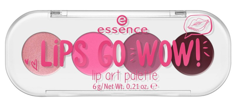 essence lips go wow palette 01