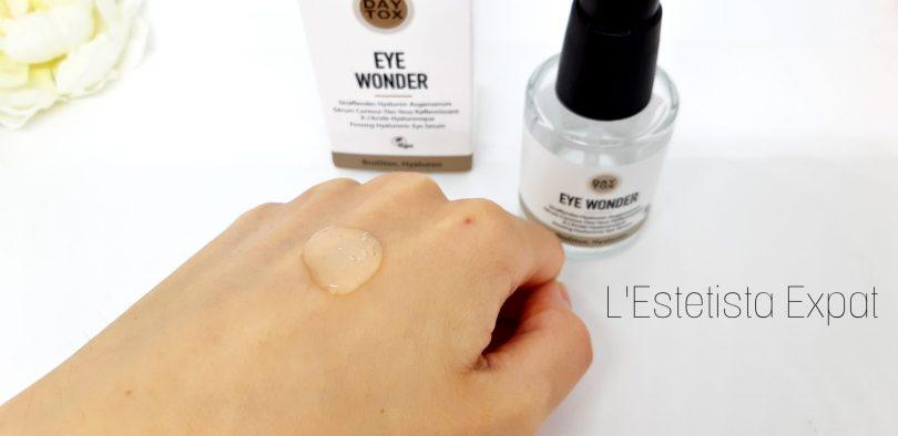daytox siero occhi texture
