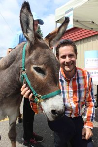 Richard loves donkeys.
