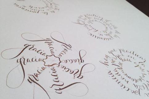 Curso de caligrafía con plumilla