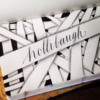 Hollibaugh zentangle caligrafia
