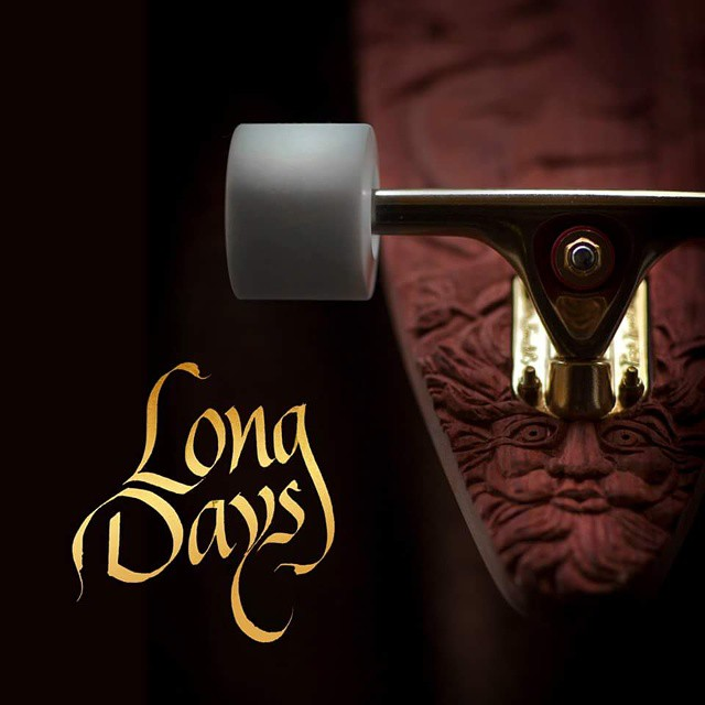 Logo Long Days Long Boards.