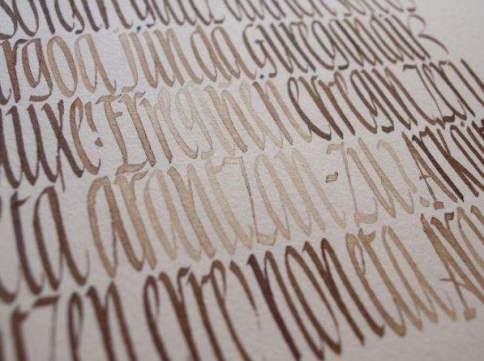 Arantzazu 2017 - Textura de letras