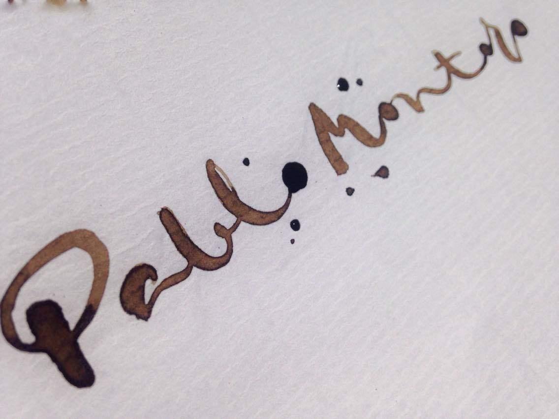 Pablo Montoro caligrafía Esther Gordo