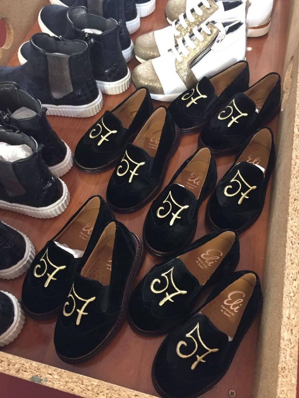 Zapatos Eli marcados con el 57