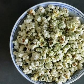 Supersnack – Spirulina Popcorn