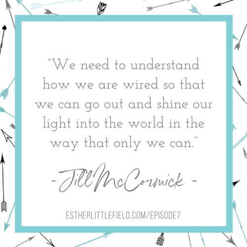 Receiving Grace and Speaking Truth Jill McCormick quote from podcast episode