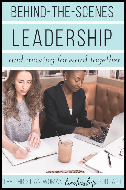 behind-the-scenes leadership, volunteering, leading a volunteer team