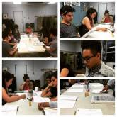 """First Table Read of """"Nobody's Child"""" Artists At Play 2015 Reading Series"""