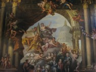 The Painted Hall, Old Royal Naval College, Greenwich.