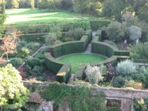 View of some of Sissinghurst from the top of the tower.