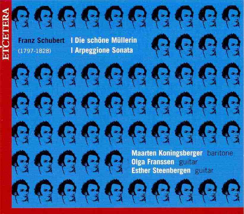 Franz Schubert - die schöne Müllerin - maarten koningsberger- olga franssen - esther steenbergen