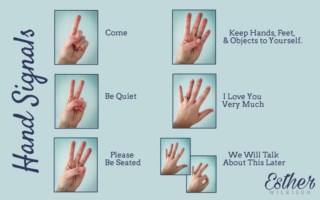 How I've Used Hand Signals