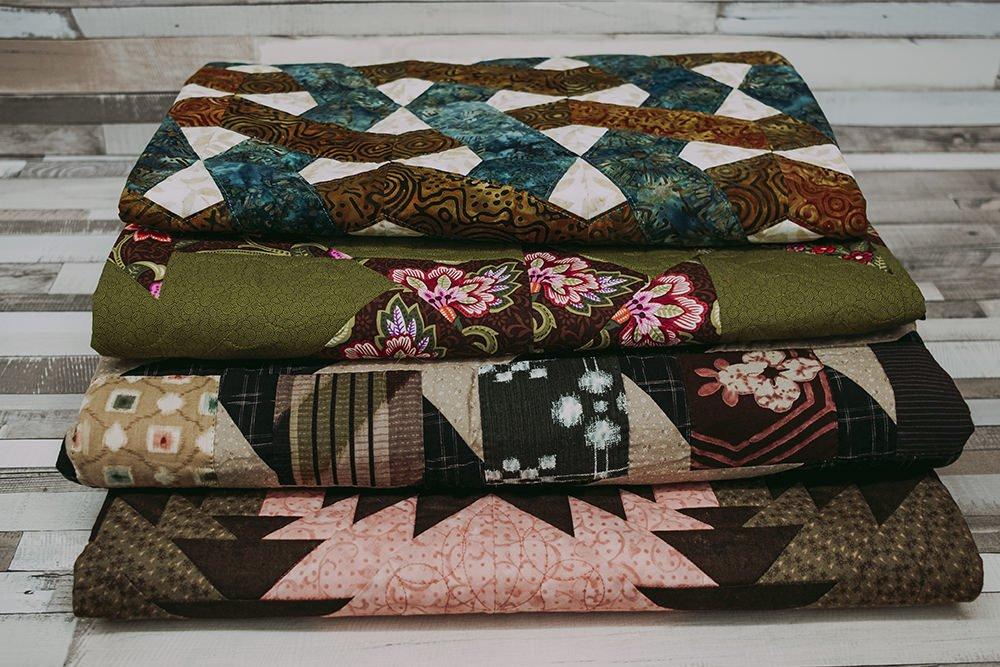 Colección de quilts don diferentes técnicas