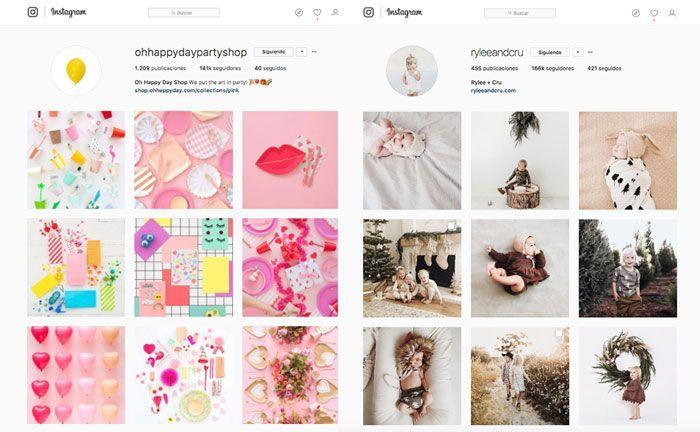 Identidad Visual Instagram