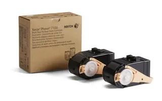 black dual package toner, 10000p for Phaser 7100