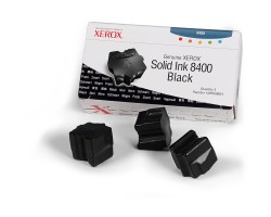 108R00604 solid ink black, 3 sticks, 3400p for Phaser 8400