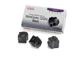 108R00663 solid ink black, 3 sticks, 3400p for WorkCentre C2424