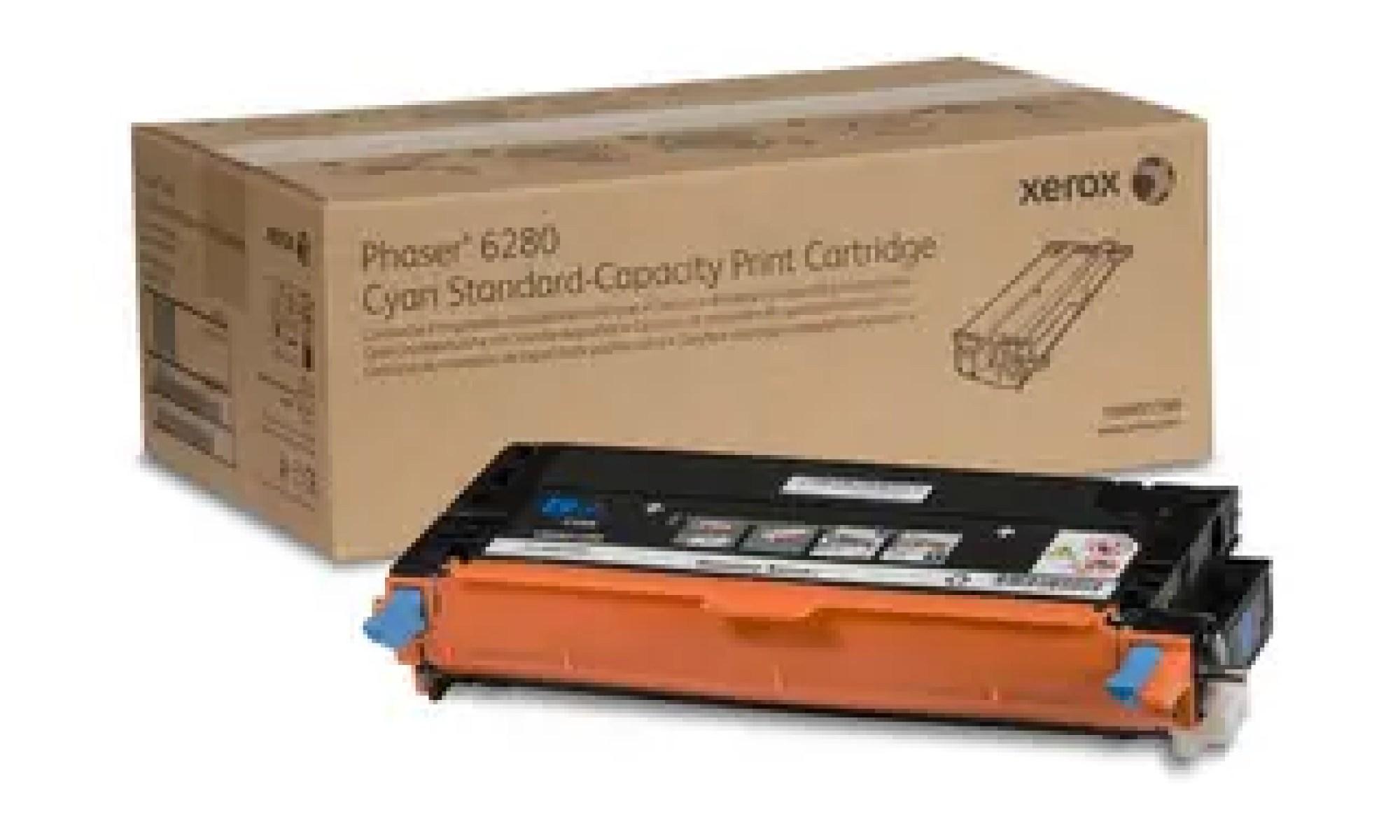 106R01388 Toner capacitate mica cyan pentru Phaser 6280